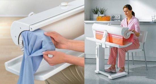 M ele rotary iron rodillo planchador conexionmoda for Planchador de ropa